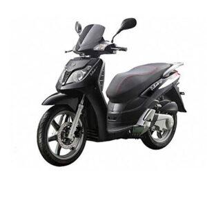 noleggio scooter zante honda keeway 125