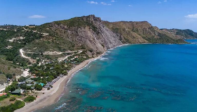 spiaggia dafni a Zante